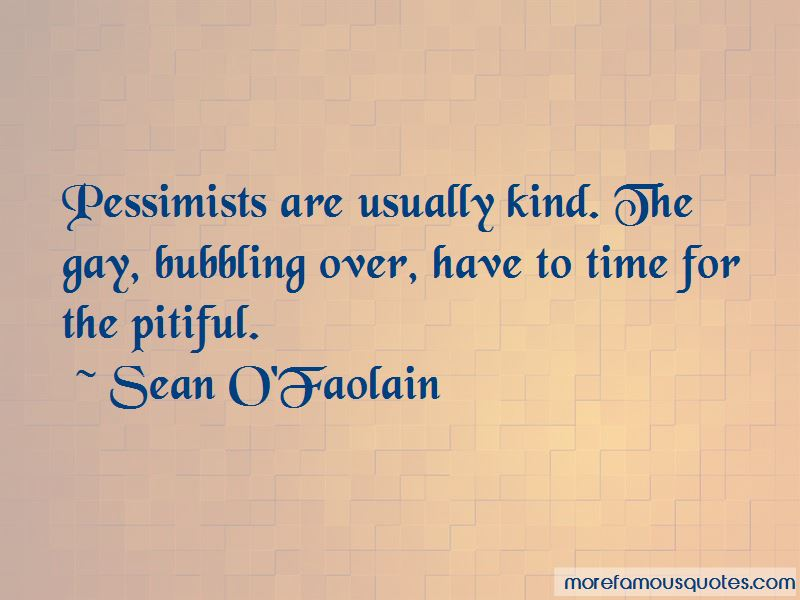 Sean O'Faolain Quotes