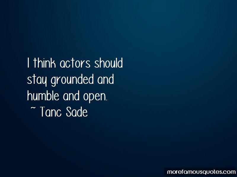Tanc Sade Quotes