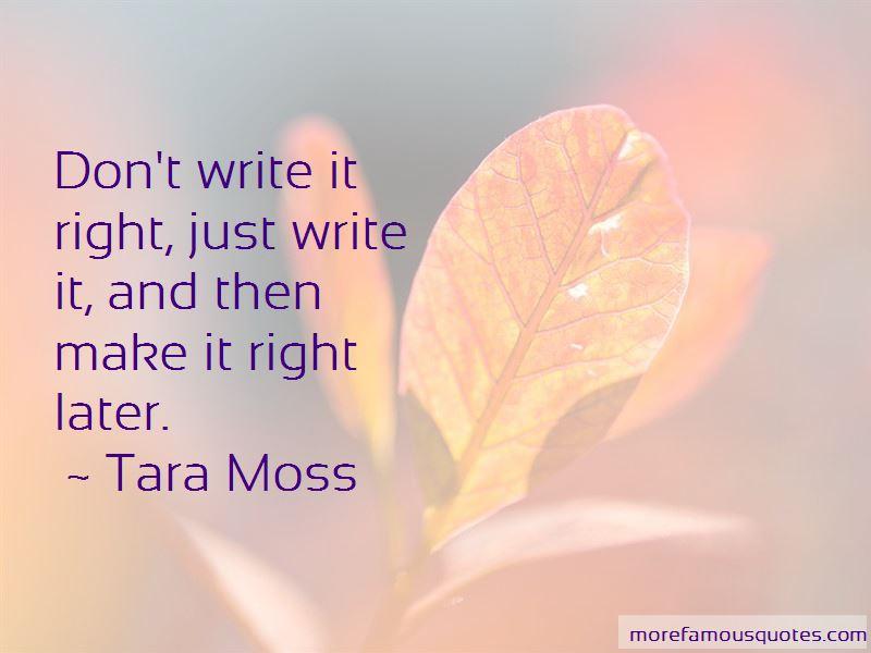 Tara Moss Quotes Pictures 3