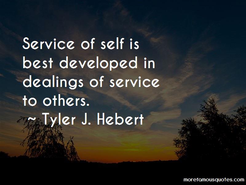 Tyler J. Hebert Quotes Pictures 3