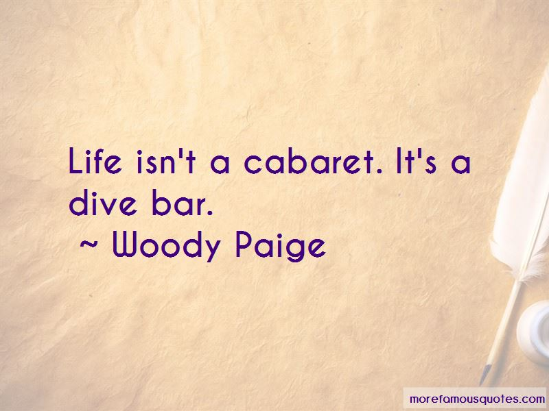 Woody Paige Quotes Pictures 2