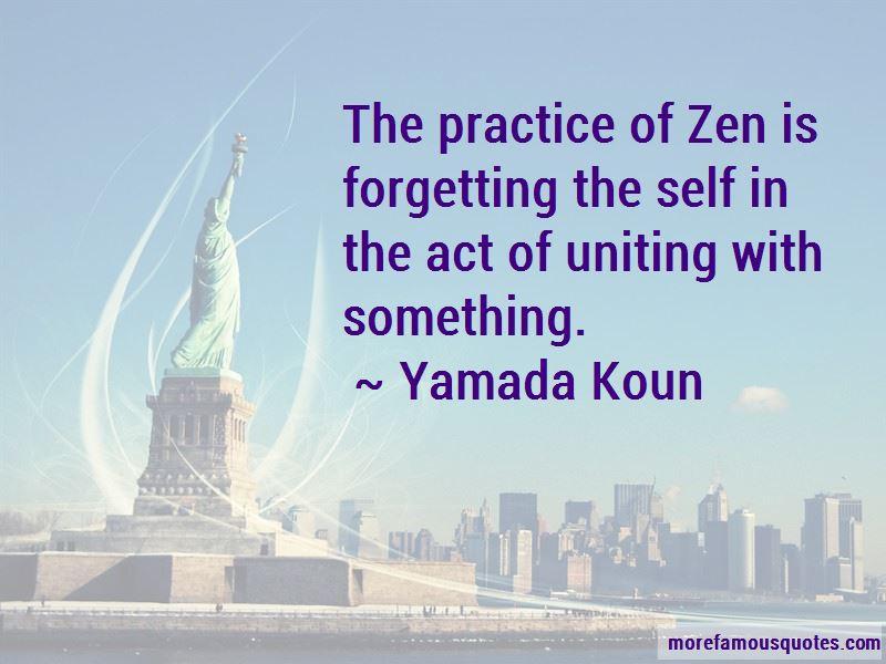 Yamada Koun Quotes