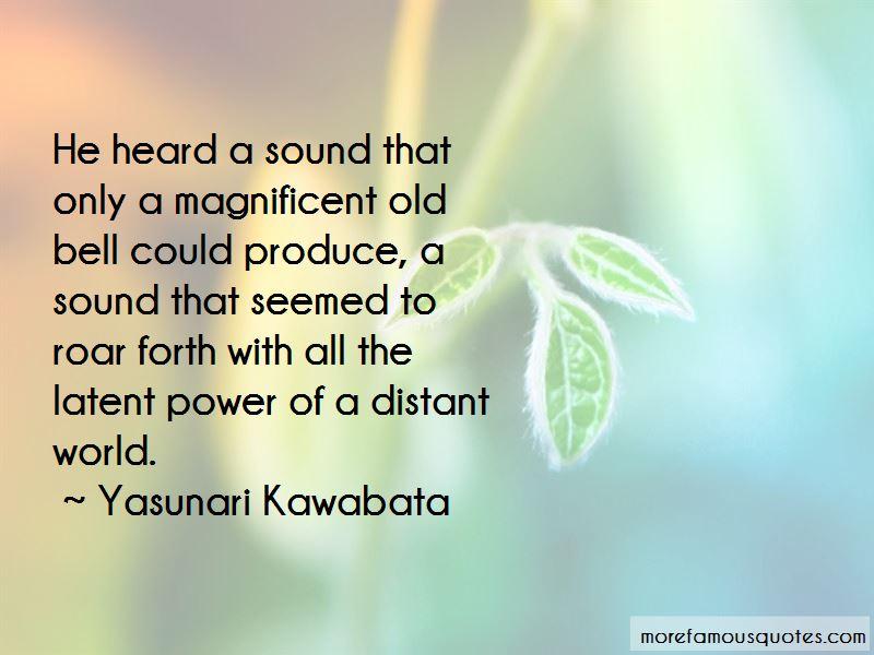 Yasunari Kawabata Quotes