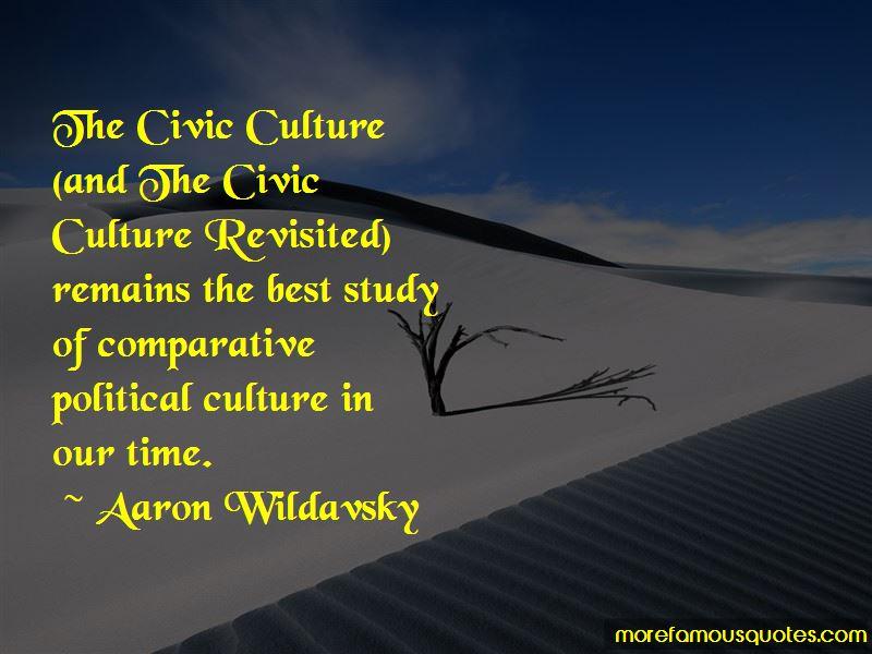 Aaron Wildavsky Quotes