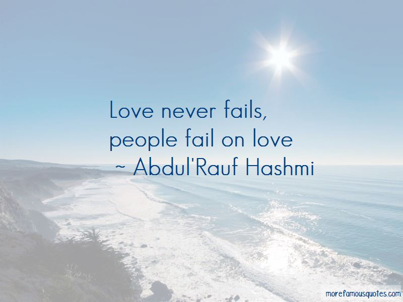 Abdul'Rauf Hashmi Quotes Pictures 2