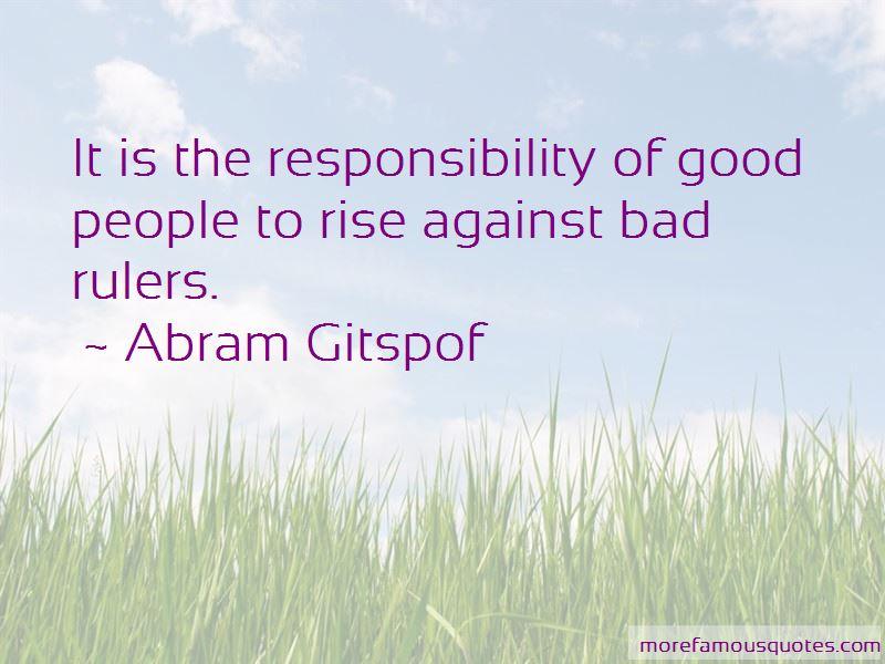 Abram Gitspof Quotes Pictures 3