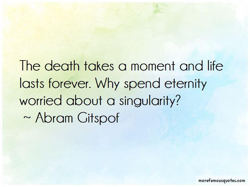 Abram Gitspof Quotes Pictures 4