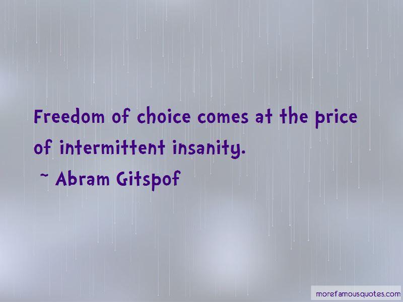 Abram Gitspof Quotes