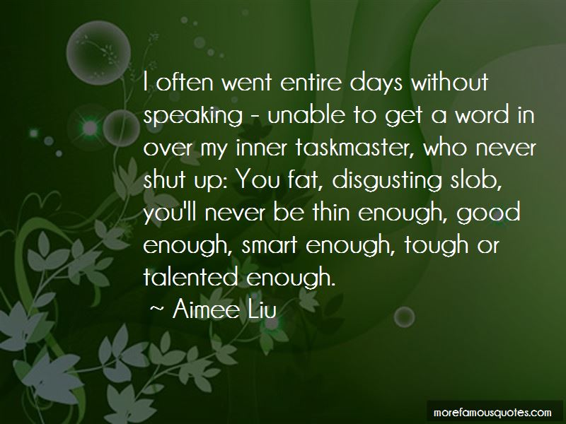 Aimee Liu Quotes Pictures 1