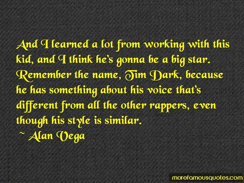 Alan Vega Quotes Pictures 3