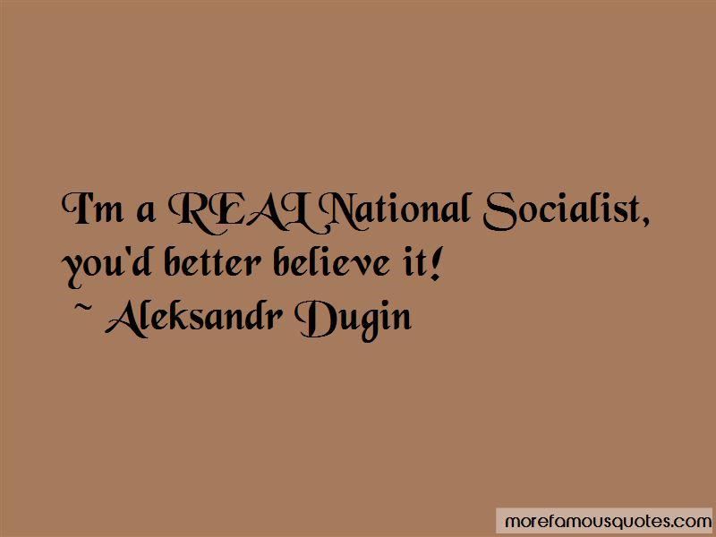 Aleksandr Dugin Quotes