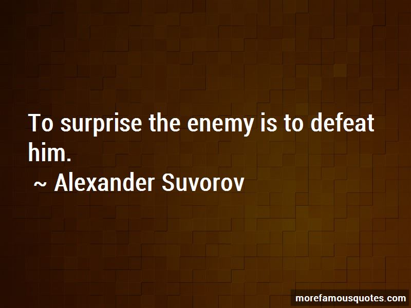 Alexander Suvorov Quotes Pictures 4
