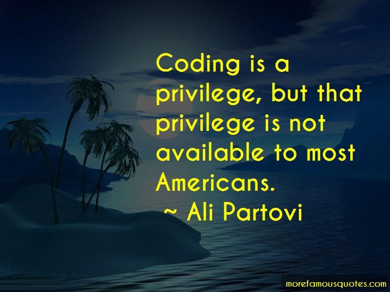 Ali Partovi Quotes Pictures 3