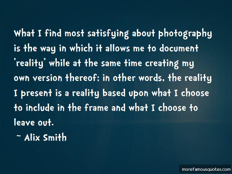 Alix Smith Quotes