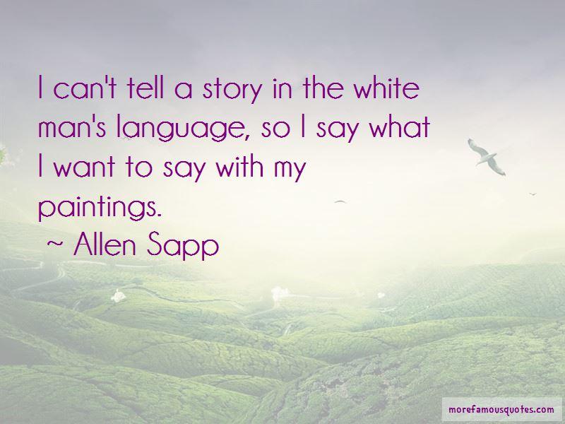 Allen Sapp Quotes Pictures 2