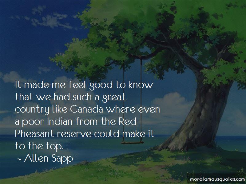 Allen Sapp Quotes Pictures 3