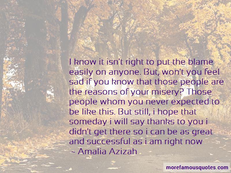 Amalia Azizah Quotes