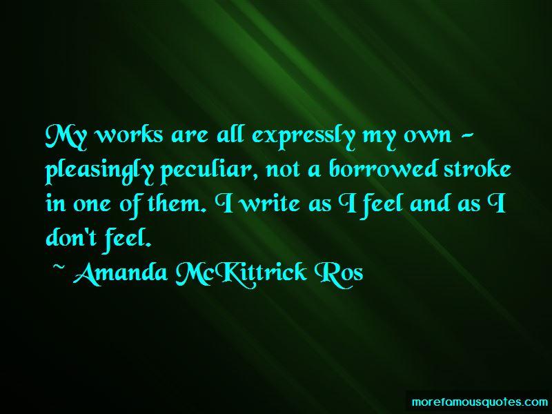 Amanda McKittrick Ros Quotes Pictures 4