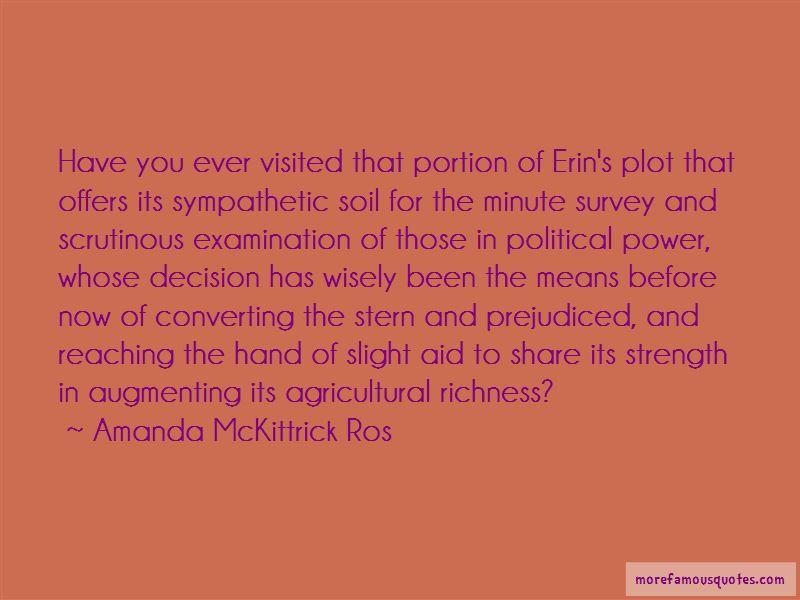 Amanda McKittrick Ros Quotes