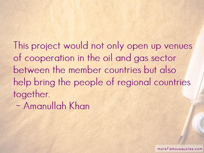 Amanullah Khan Quotes