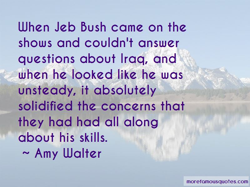 Amy Walter Quotes