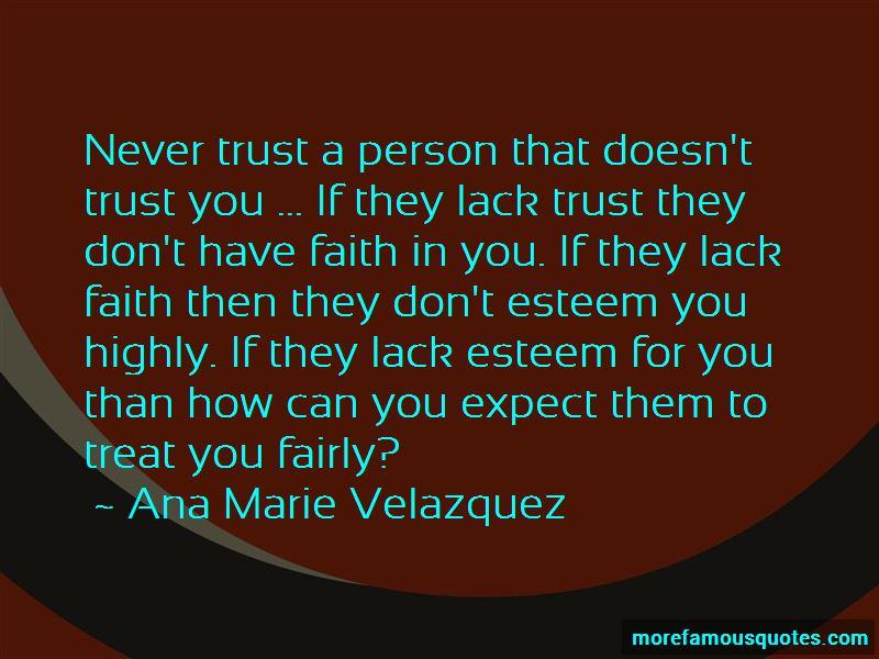 Ana Marie Velazquez Quotes