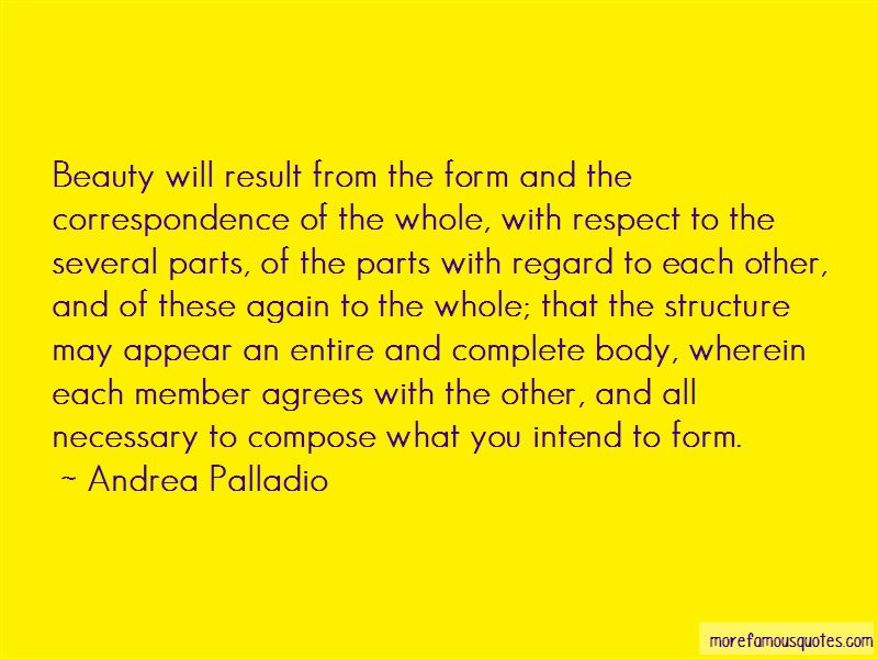 Andrea Palladio Quotes