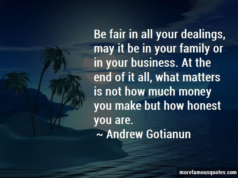 Andrew Gotianun Quotes