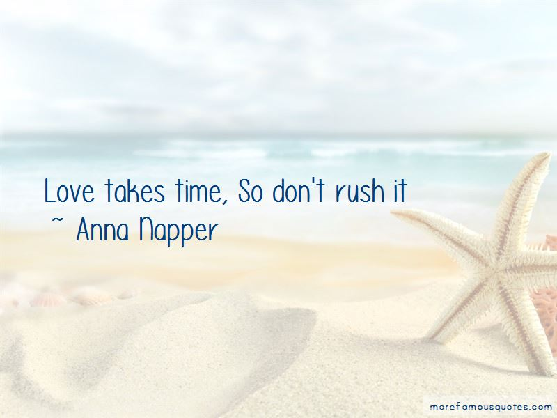 Anna Napper Quotes