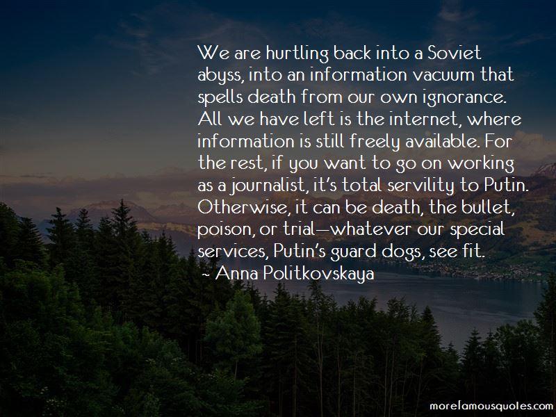 Anna Politkovskaya Quotes Pictures 3
