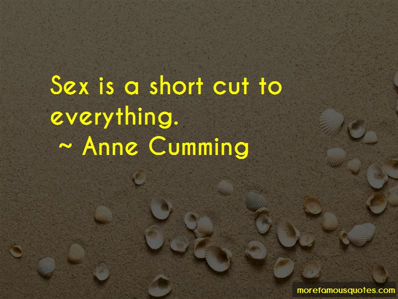 Anne Cumming Quotes