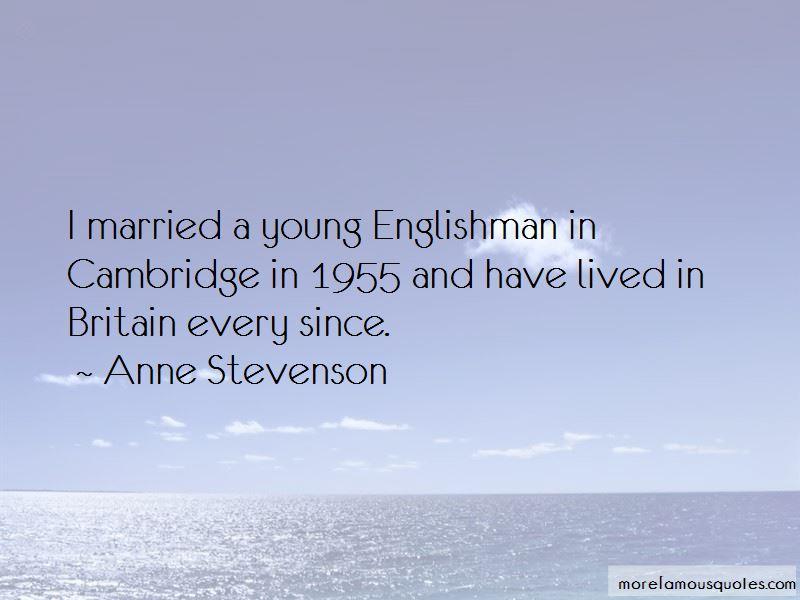Anne Stevenson Quotes Pictures 3