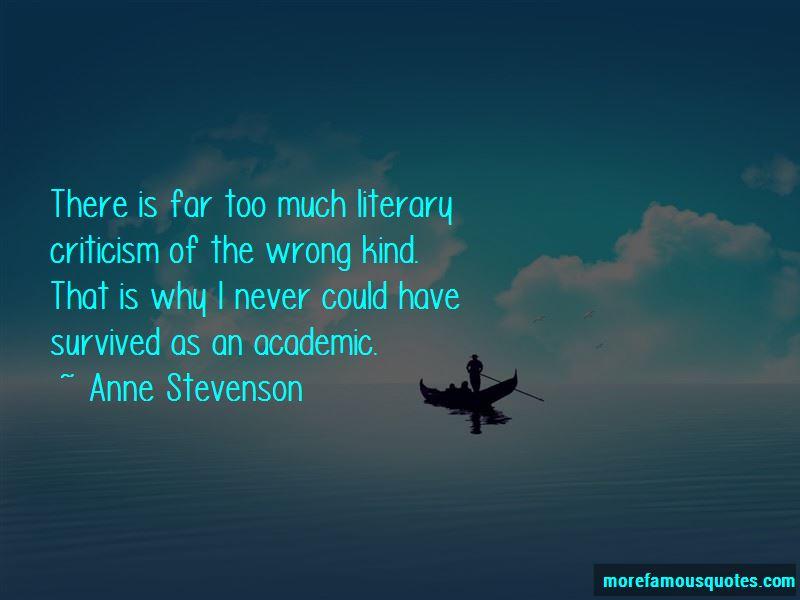 Anne Stevenson Quotes Pictures 4