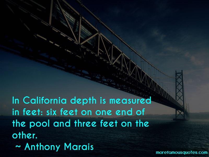Anthony Marais Quotes