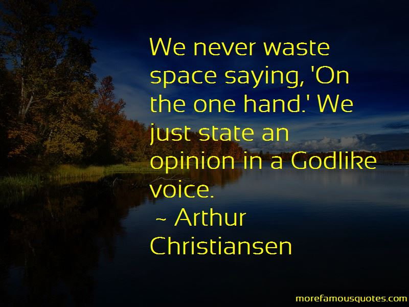 Arthur Christiansen Quotes Pictures 3