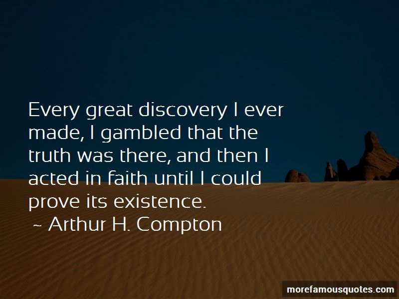 Arthur H. Compton Quotes Pictures 2