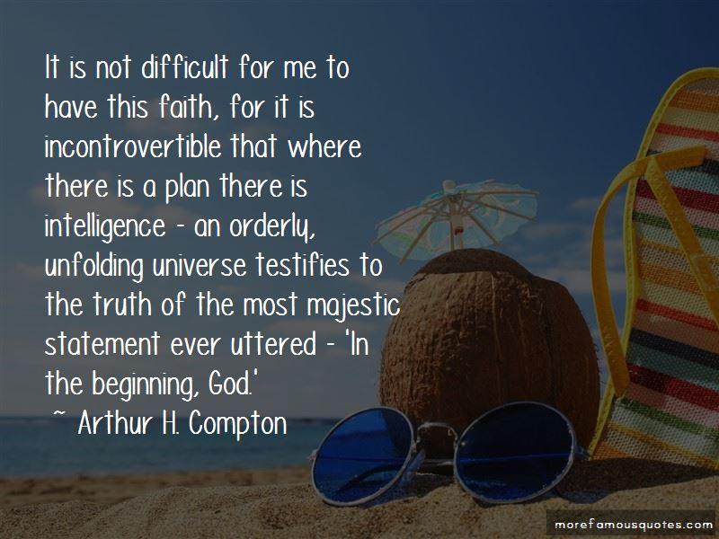 Arthur H. Compton Quotes