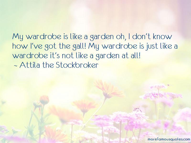 Attila The Stockbroker Quotes Pictures 2