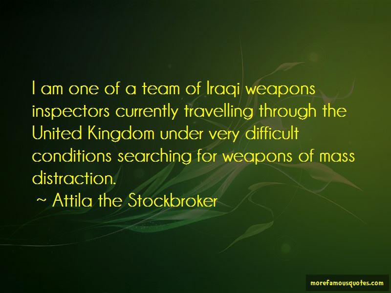 Attila The Stockbroker Quotes