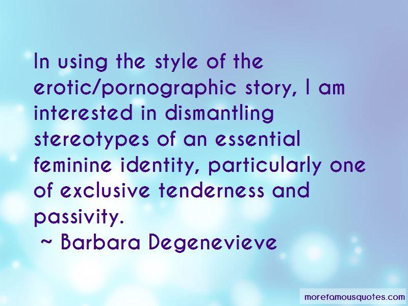 Barbara Degenevieve Quotes Pictures 3