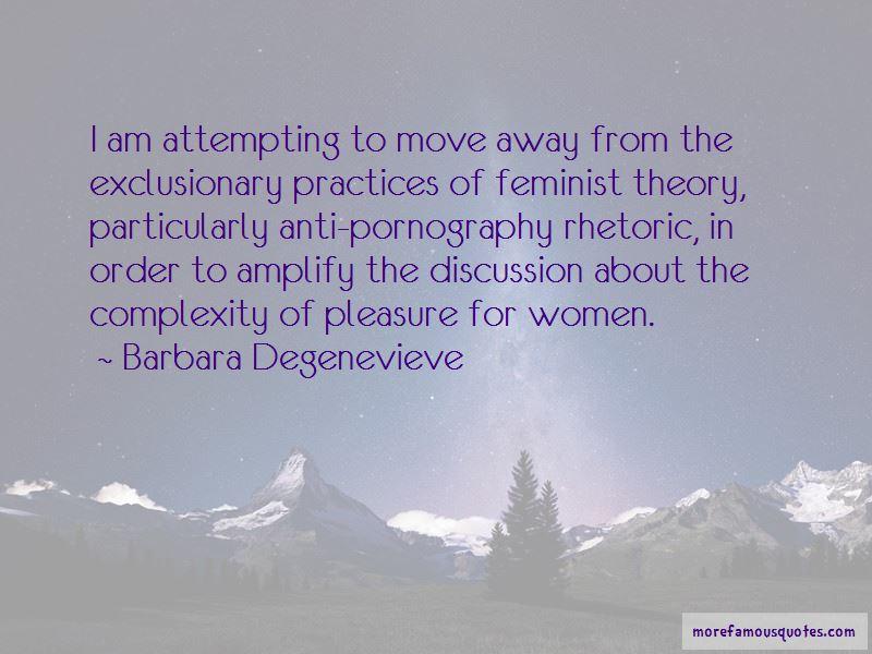 Barbara Degenevieve Quotes