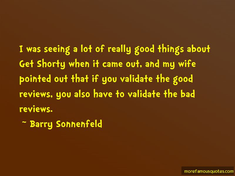 Barry Sonnenfeld Quotes Pictures 4