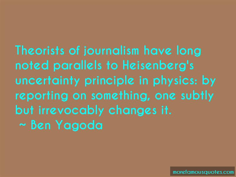 Ben Yagoda Quotes Pictures 2