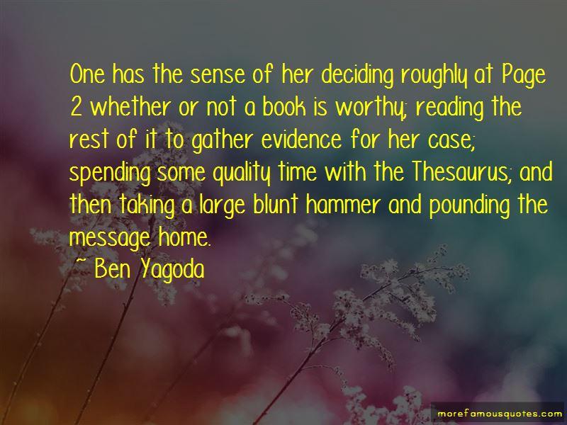 Ben Yagoda Quotes Pictures 4