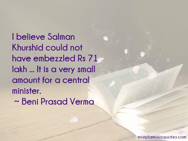 Beni Prasad Verma Quotes Pictures 2