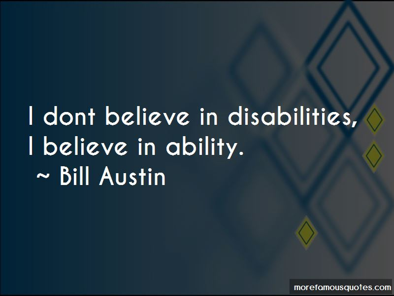 Bill Austin Quotes Pictures 4