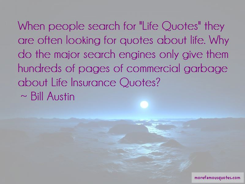 Bill Austin Quotes