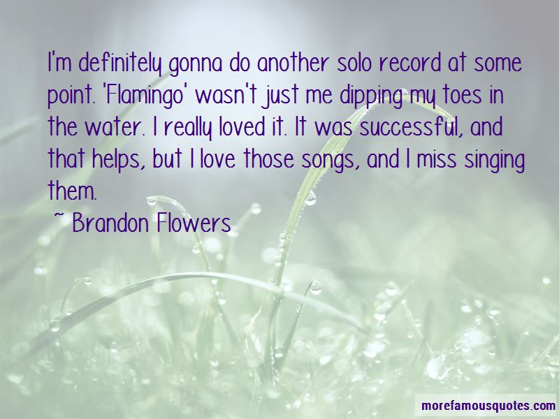 Brandon Flowers Quotes Pictures 4