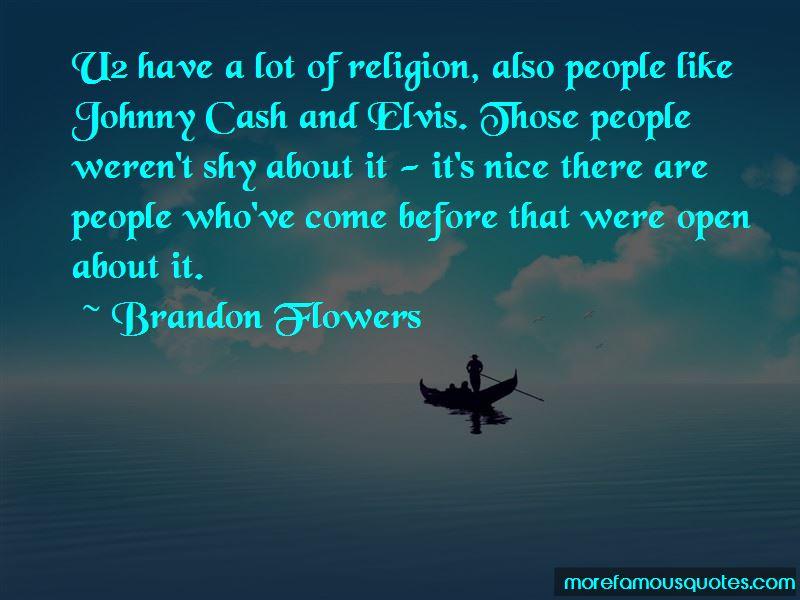 Brandon Flowers Quotes