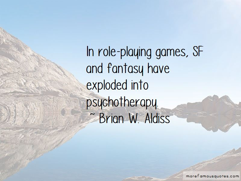 Brian W. Aldiss Quotes Pictures 4